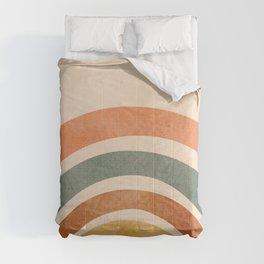 Retro Rainbow Comforters