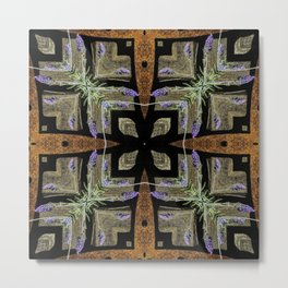 Patterned Lavender - Lavandula Metal Print