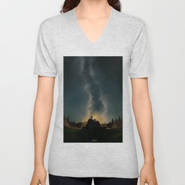 Moments of happiness Unisex V-Neck