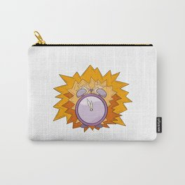 violet alarm clock Carry-All Pouch