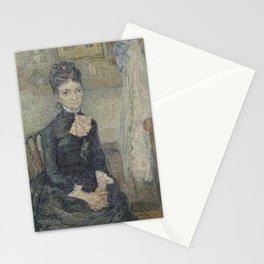 Portrait of Léonie Rose Charbuy-Davy Stationery Cards