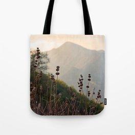 Ojai Mighty Mountain California Shine Tote Bag