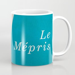 Contempt, Le Mépris, Jean-Luc Godard, Fritz Lang, Brigitte Bardot, french film, new wave, vague Coffee Mug