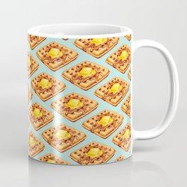 Waffle Pattern Coffee Mug