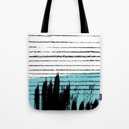 Lines & Strokes 001 Tote Bag
