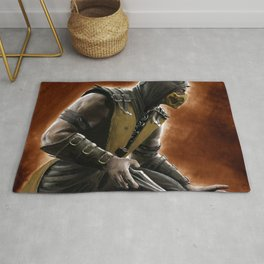 Scorpion fan art Rug