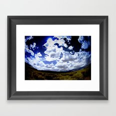 Looking Ahead Framed Art Print