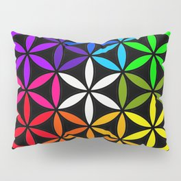 Secret flower of life Pillow Sham