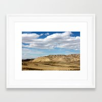 utah Framed Art Prints featuring Utah by kemsphotography