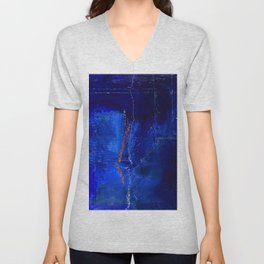 Into The Blue No.3a by Kathy Morton Stanion Unisex V-Neck