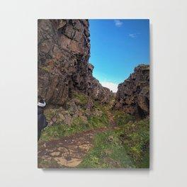 Þingvellir/Thingvellir National Park, Iceland (3) Metal Print