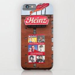 Heinz History Center Pittsburgh Pennsylvania Print iPhone Case