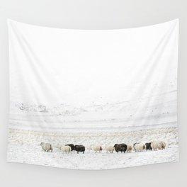 Icelandic Sheep VI Wall Tapestry