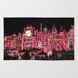 Small World Holiday (Night-time no.1) Rug