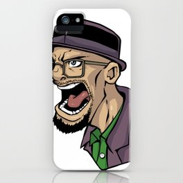 I am the one who Knocks! iPhone Case