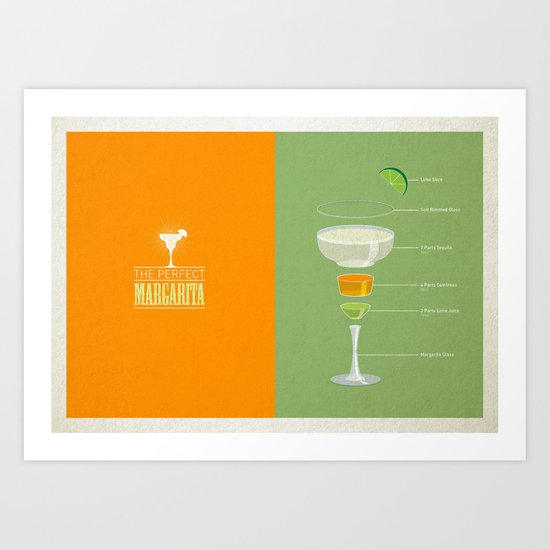 The Perfect Margarita Art Print