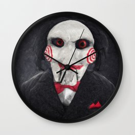 Billy The Puppet Wall Clock