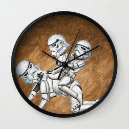 Stormtrooper Horsey Ride Wall Clock