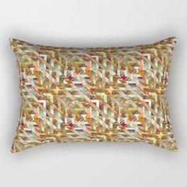 Geometric Quilt Rectangular Pillow