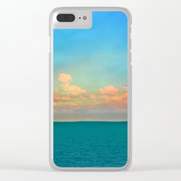 Endless Horizon Clear iPhone Case