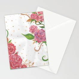 Lovely Roses Stationery Cards