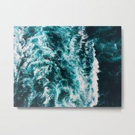 Deep Blue Waters Metal Print