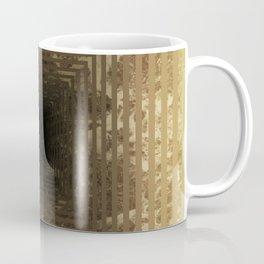 Marble's geometric tunnel in pearl color Coffee Mug