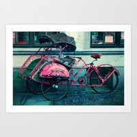 drive Art Prints featuring drive? by Claudia Drossert