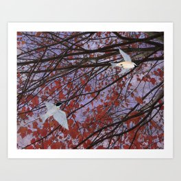 astral autumn Art Print