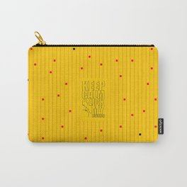 Keep calm & lick my Boobs... Sex Inspirational Quote Carry-All Pouch