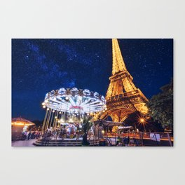 The Promises of the Night Canvas Print