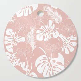 Tropical pattern 020 Cutting Board