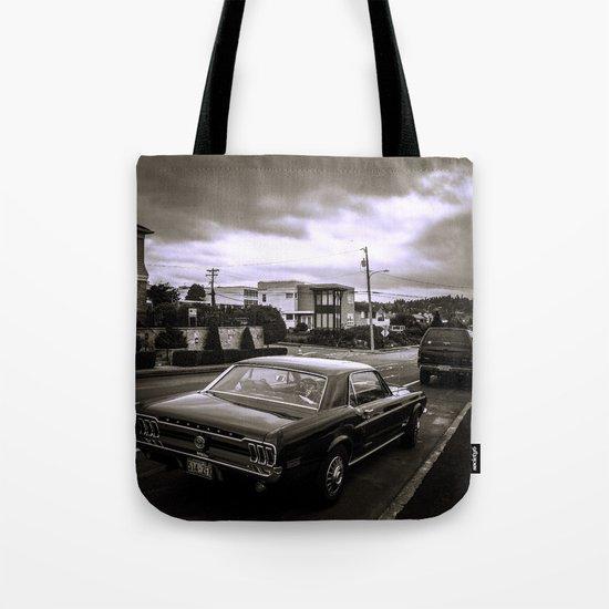 Black Ride Tote Bag