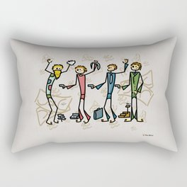 Businessman Rectangular Pillow