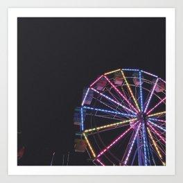 Iowa State Fair 2018 - Ferris Wheel Art Print