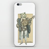 banjo iPhone & iPod Skins featuring Banjo Lion by Felis Simha