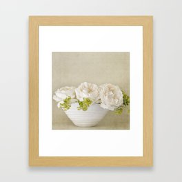 Rose Bowl Framed Art Print