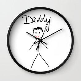 Daddy Wall Clock