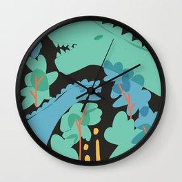 Jurrasic Wall Clock