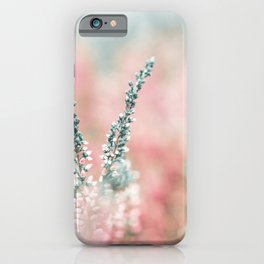 Pretty in Pink - Flowers iPhone Case