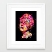 wasted rita Framed Art Prints featuring Rita by Alessandro Pautasso