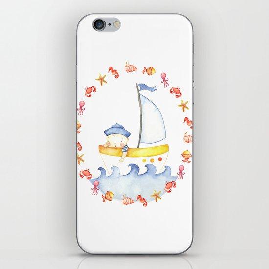 Baby sailor iPhone Skin