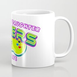Father and Daughter Gamers For Life Coffee Mug