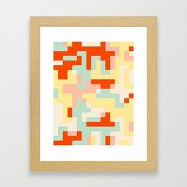 pixel 002 01 Framed Art Print