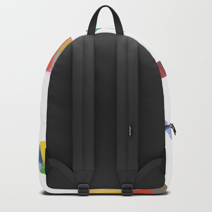 Colorful Shapes One Backpack