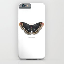 Calleta Silkmoth  (Eupackardia calleta) iPhone Case