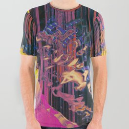 Computer Core Sample [T/7h-1A] All Over Graphic Tee