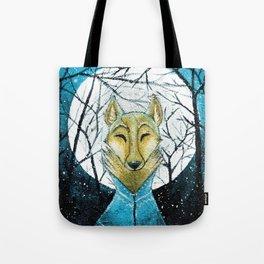 Lobo de Luna Tote Bag