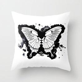 Butterflies in my stomach Throw Pillow