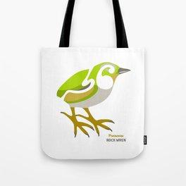 Rock Wren New Zealand Bird Tote Bag